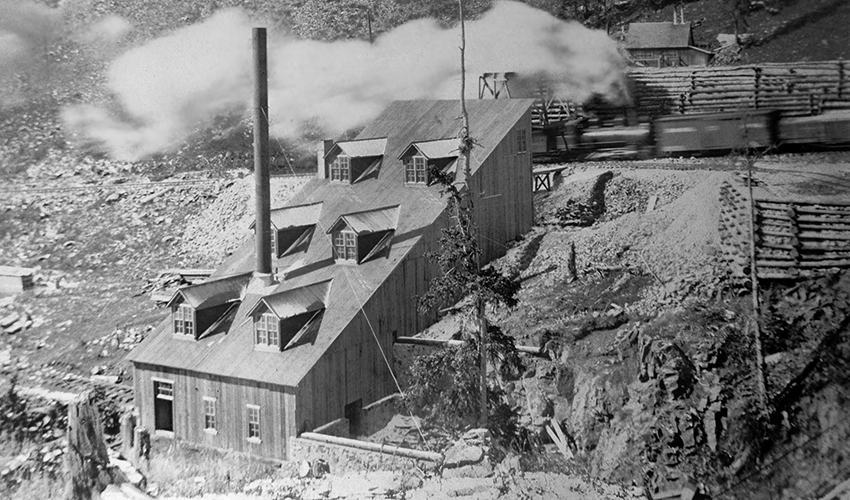 Astor Mine and Mill on Silverton Northern between Eureka and Animas Forks.