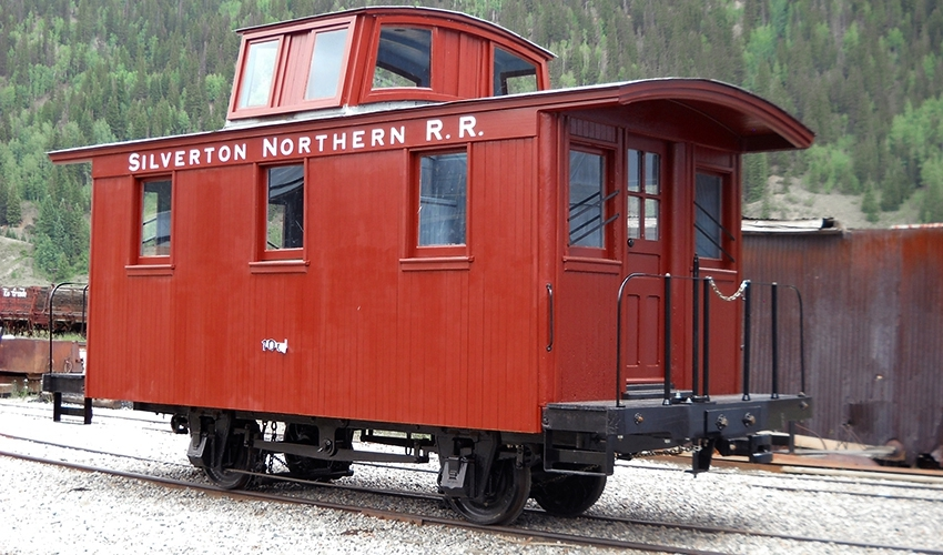 Silverton Northern Caboose #1005 -  Fully Restored